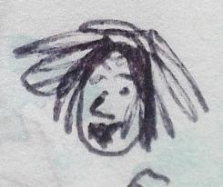 June 1996 - 'Freda' the scruff