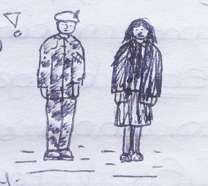 August 1996 - Army uniform