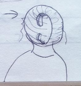 August 1996 - Hair thing