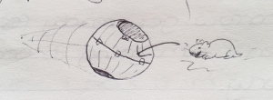 September 1996 - Hamster ball