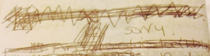November 1996 - Abby scribble