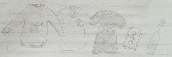 November 1996 - Clothes presents