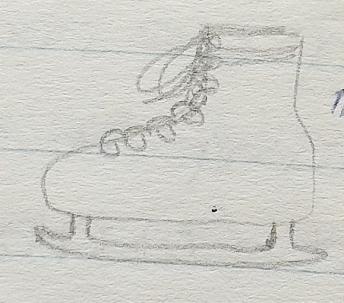 November 1996 - Ice skate
