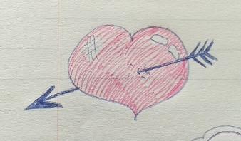 November 1996 - Red heart (general)