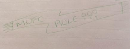January 1996 - MUFC rule