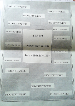 July 1997 - Induatry Week leaflet
