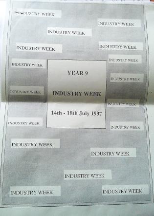 July 1997 - Induatry Week leaflet