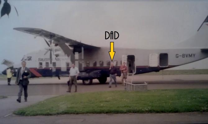 August 1997 - Plane