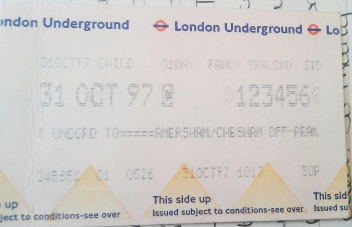 October 1997 - Ticket 2