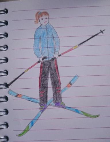 December 1997 - Skiing