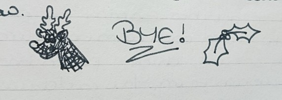 December 1997 - Xmas bye
