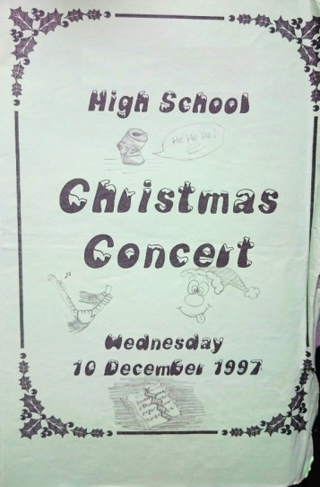 December 1997 - Xmas Concert