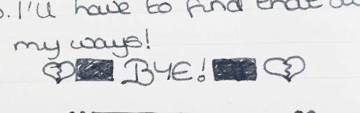 January 1998 - Heartbreak bye