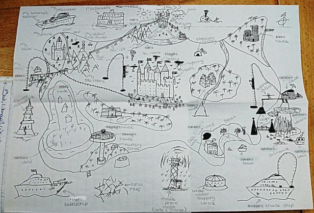 New Cheshire map