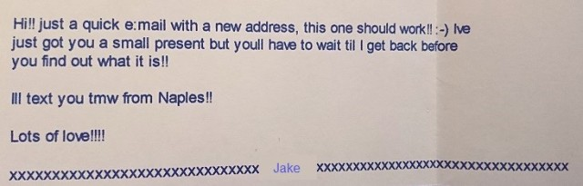 Jake cruise email 4