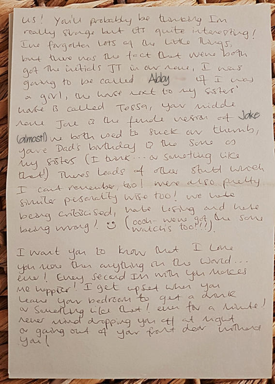 Jake's letter page 4