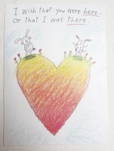 21-02-01 Valentine's card message
