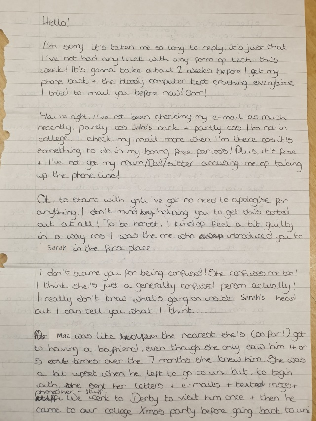 18-04-01 Tess letter to Michael page 1